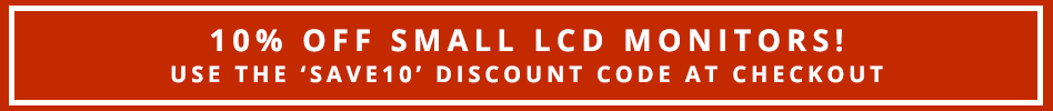 10% off Small LCDs