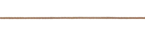 9ct Red Gold 12 Filed Curb Chain