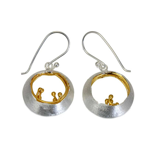Christin Ranger - Little Water Feature-drop earrings