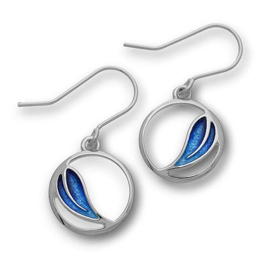 Ortak Cedar Midnight Blue Drop Earrings - ee352