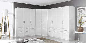 Zenith White Gloss Wardobe