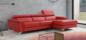 Milano Leather Chaise