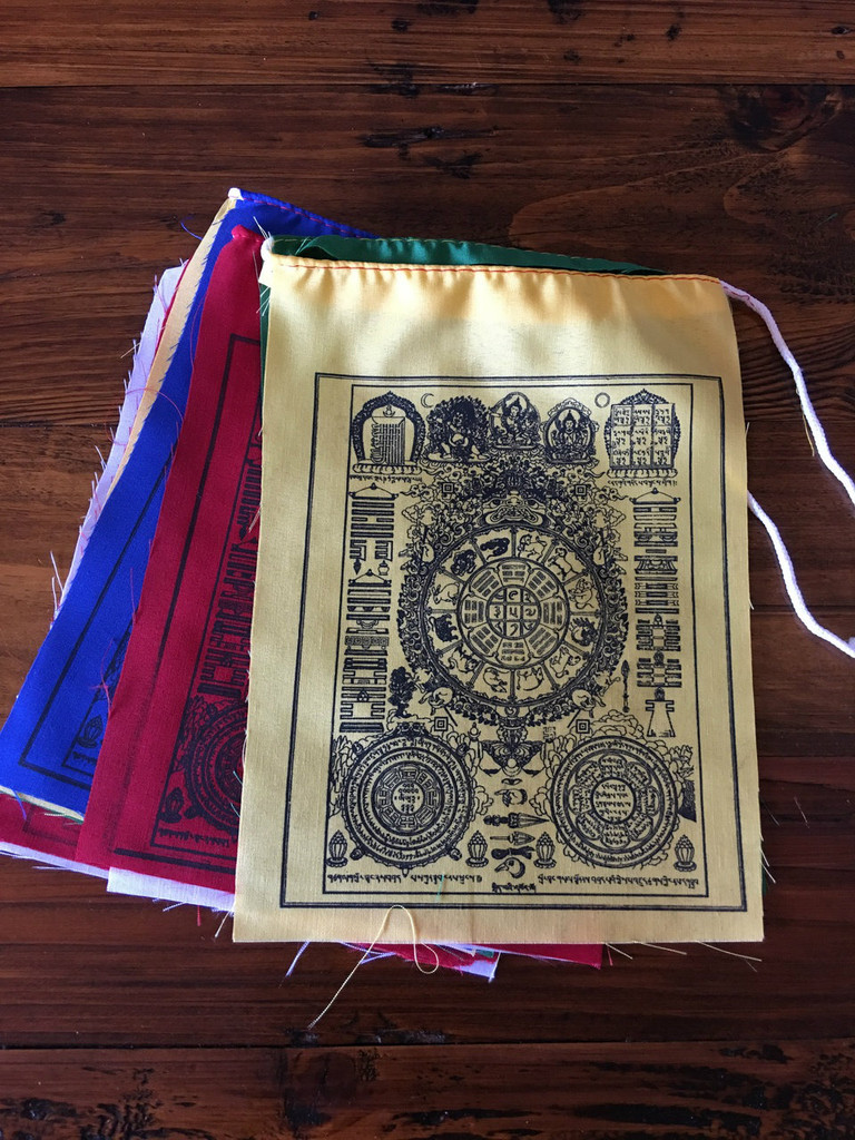 prayer flags for positive energy