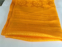 High Quality Tibetan Prayer scarf Kata Gold color