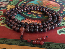 Rare Red Tiger Eye 108 mala