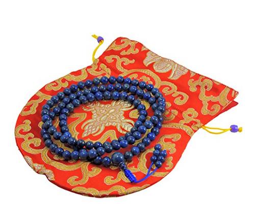 Lapis Lazuli mala 108 beads