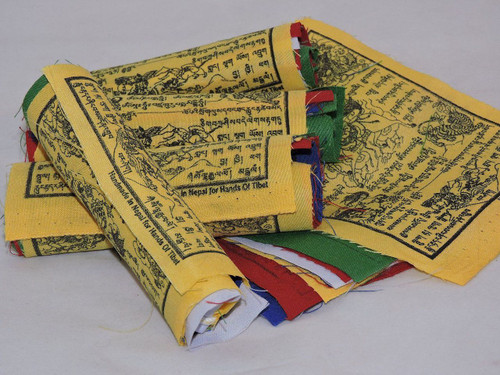 Tibetan Prayer Flags Wind Horse 50 Flags Five Rolls