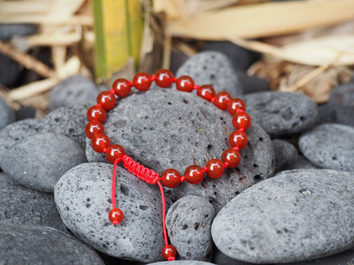 Handmade individually knotted Calming Anger wrist mala yoga bracelet