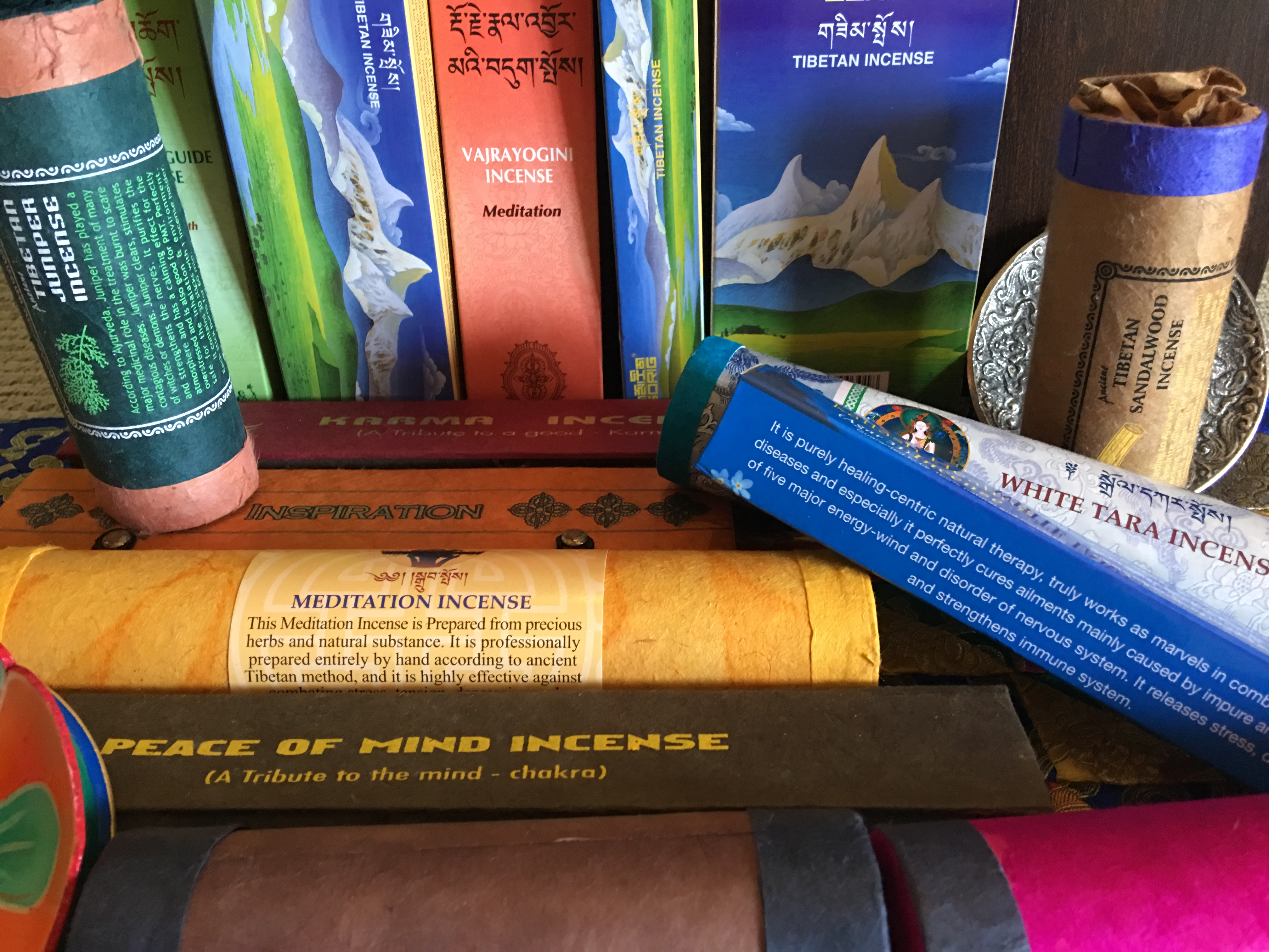 All natural Handmade Tibetan Incense