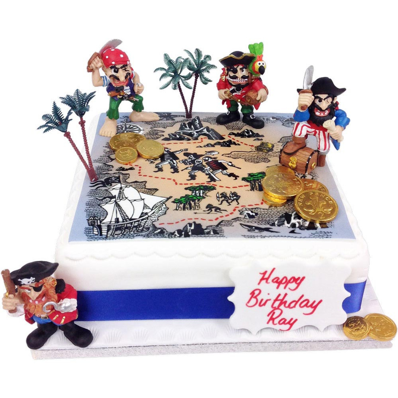 Order birthday celebration cakes personalised delivered pirate birthday cake sciox Choice Image