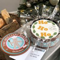 Ho Ho Ho its a Christmas Fruitcake by the Brilliant Bakers