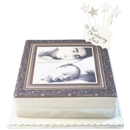Antique Photo Frame Cake