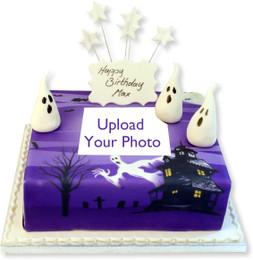 Scary Photo Cake