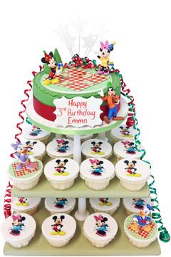 Mickey and Minnie Cake Tower