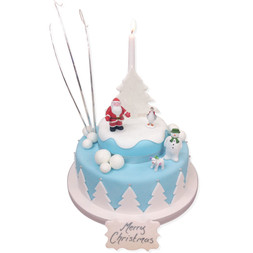 The Snowman Luxury Cake