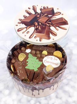 Christmas Tree Comfort Cake