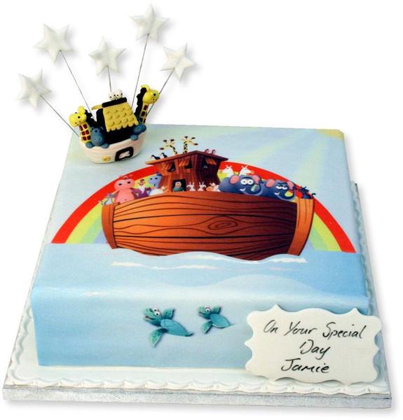 Noah's Ark Cake