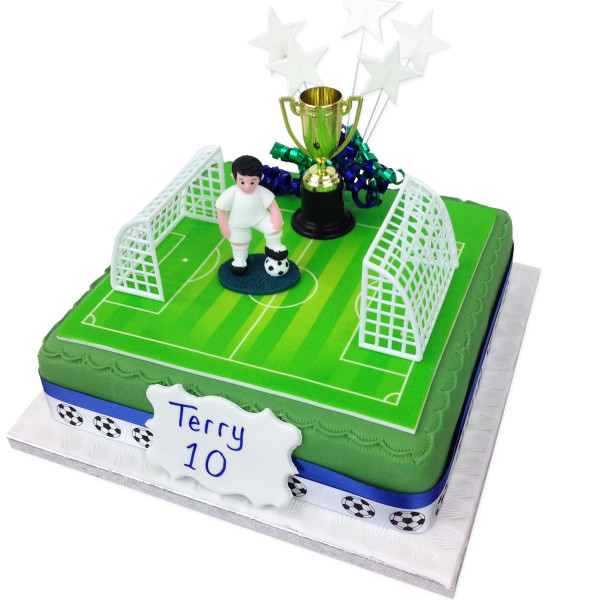 Football Birthday Cake Boys Birthday Cakes The Brilliant Bakers
