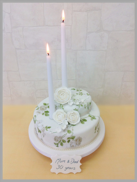 Old Flames Luxury Cake