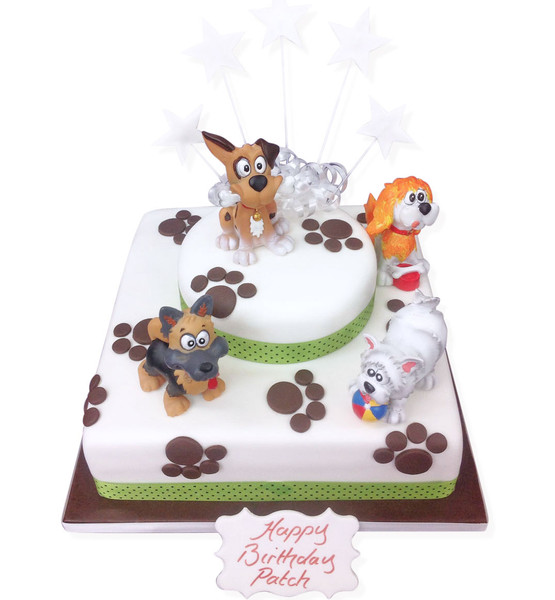 Puppy Dog Cake Luxury Cakes The Brilliant Bakers