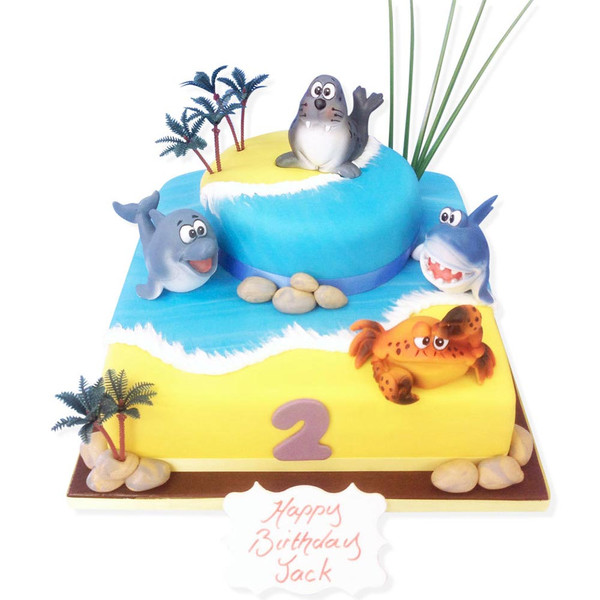 Sea Life Cake Luxury Cakes The Brilliant Bakers