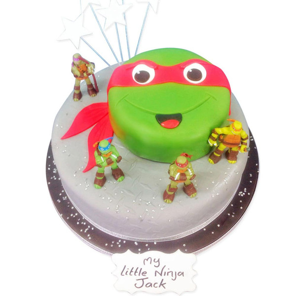 Ninja Turtle Cake Luxury Cakes The Brilliant Bakers