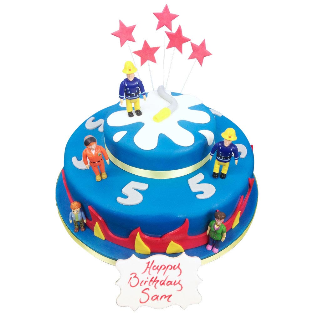 Fireman Sam Cake Luxury Cakes The Brilliant Bakers