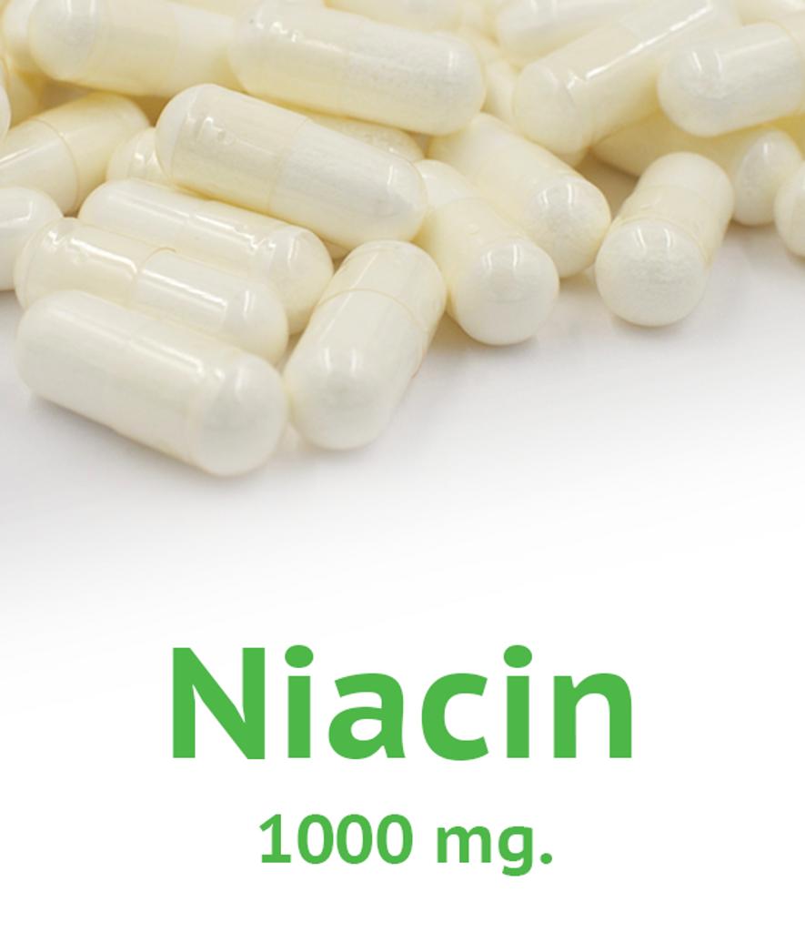 Niacin 1000 mg Capsule