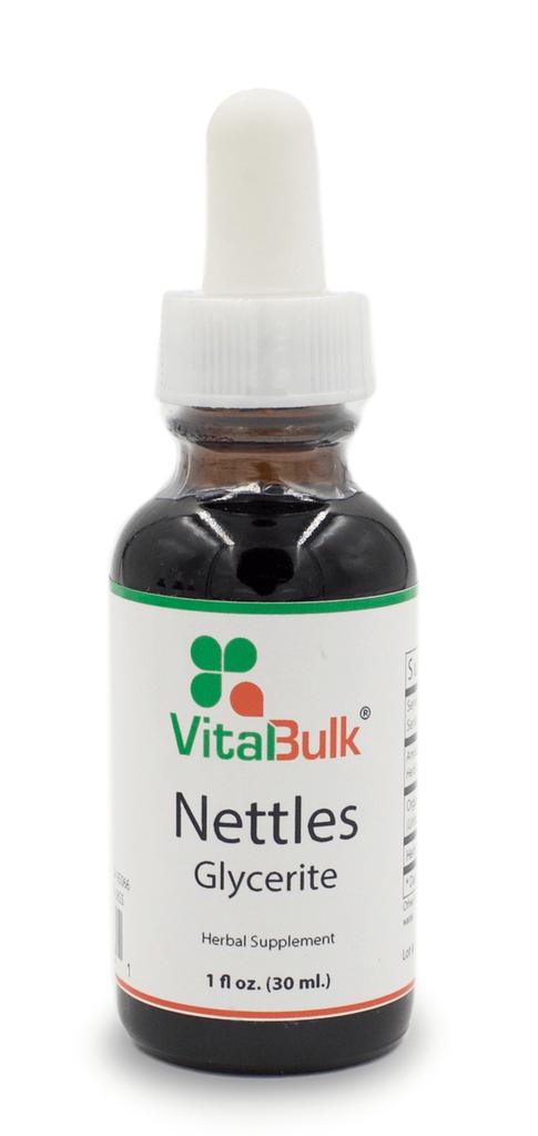 Nettles Glycerite - 1 Oz. Bottle