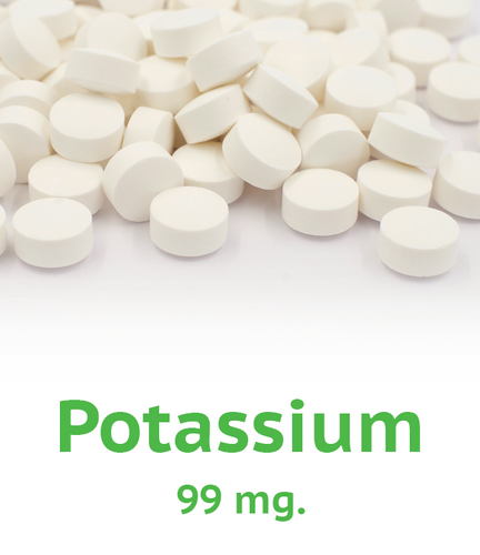 Potassium 99 mg Tablet