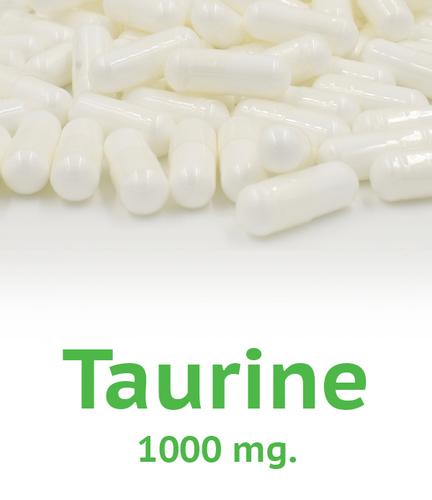 Taurine 1000 mg Capsule - 100 Count Bag