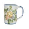 14 oz Mug in Country Flower Blue