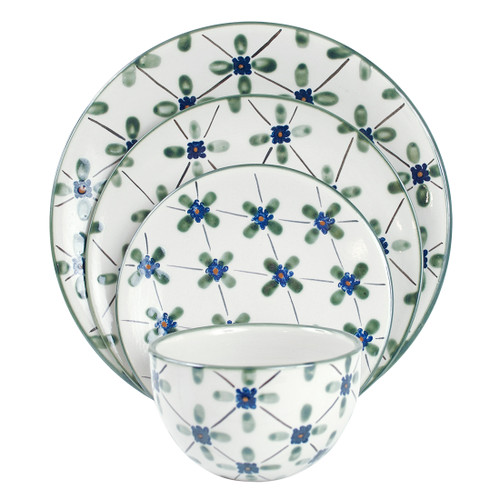 Thin Place Setting in French Country, French Country Place Setting