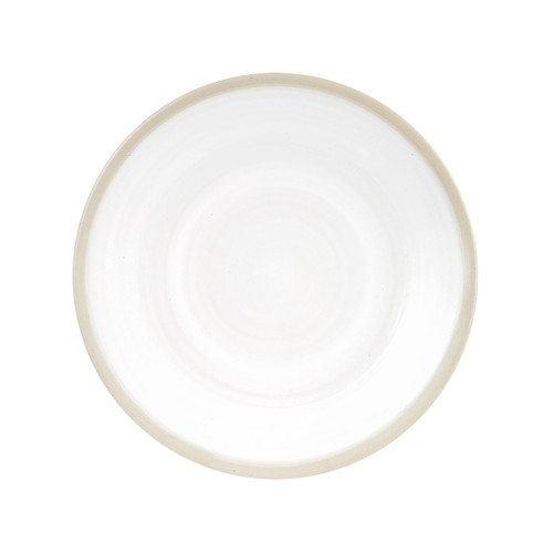 """7"""" Coupe Plate  in White - Louisville Pottery Collection"""