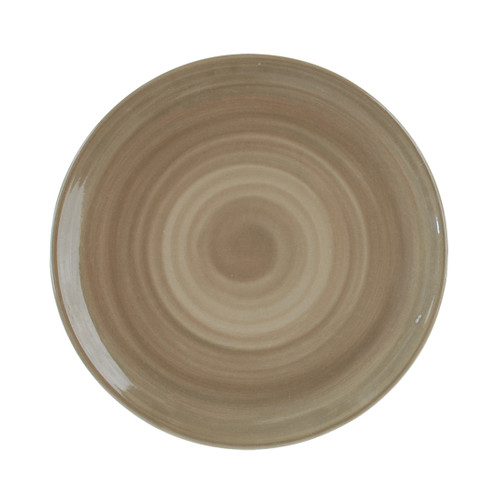 """9"""" Coupe Plate in Special Grey"""