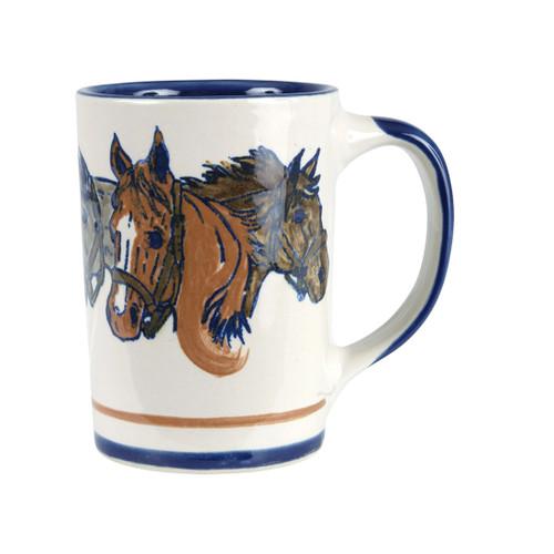 3 Horse Heads Mug