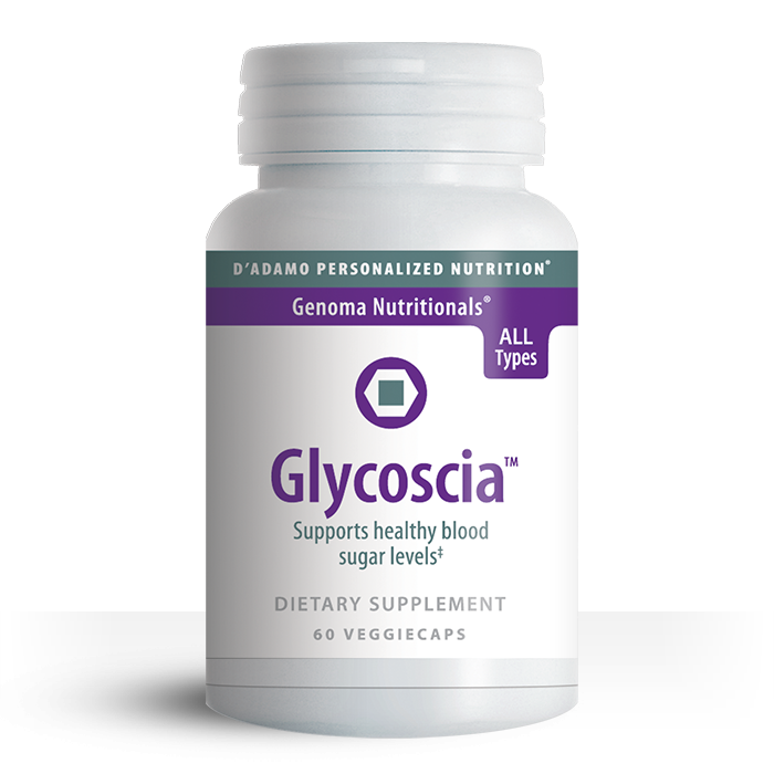 Originally developed for use in his clinic, Dr. D'Adamo designed Glycoscia to support the body's natural ability to maintain blood sugar levels that are already in the normal range.