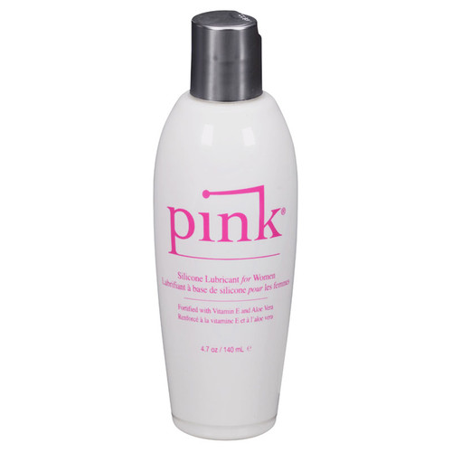 Pink Silicone Personal Lubricant
