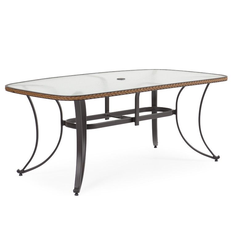 "327346 73"" x 42"" Boat Shaped Dining Table"