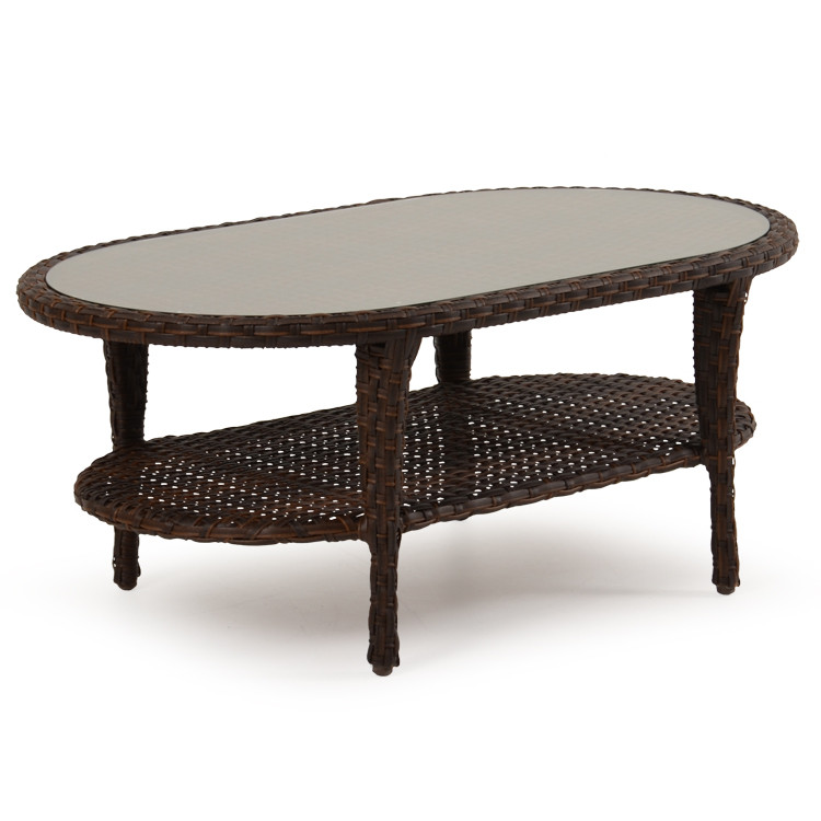 "6029G  42"" x 20"" Oval Cocktail Table"