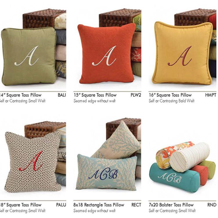 Monogram Toss Pillows