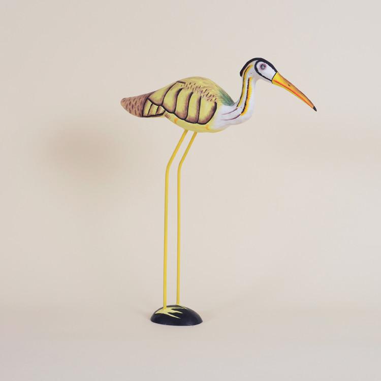 04-39 Wooden Painted Bird