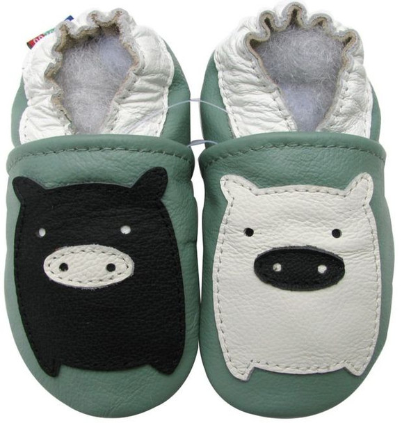 Black White Piggy Green up to 6 Years Old