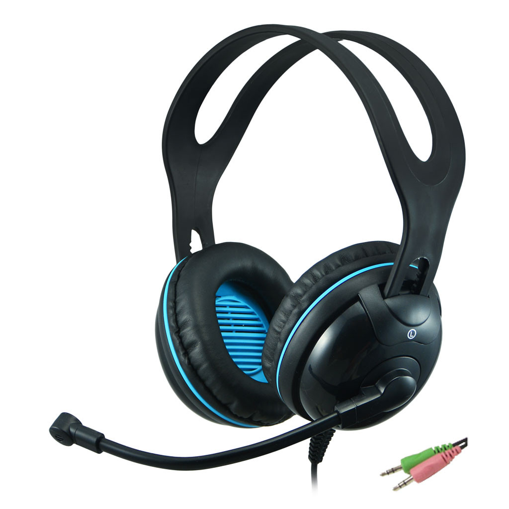 EDU-455 Over-Ear (Circumaural) Stereo PC Headset