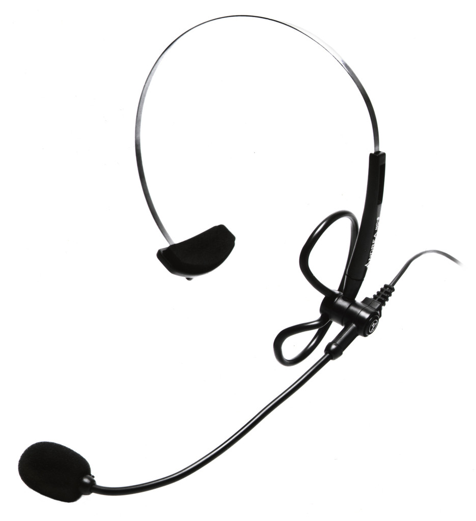 NC-8 Ultralight Noise-Canceling Head Mounted Microphone