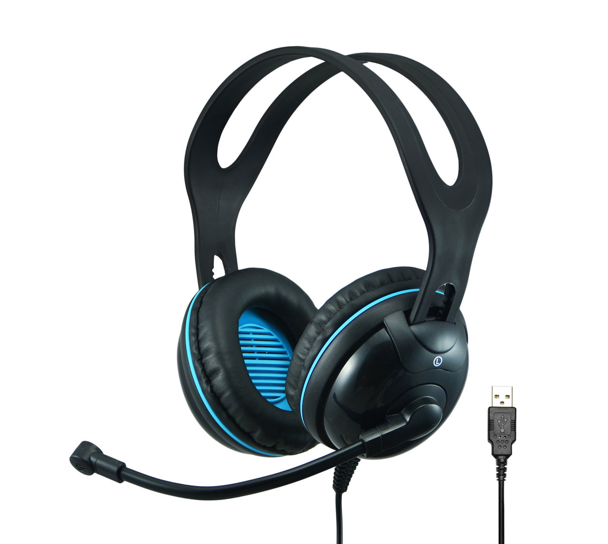 94b737dbe1e EDU-455 USB Over-Ear Stereo USB Headset (List Price $44.95) - Andrea  Communications