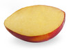 Mango Puree Sorbet Half. Delicious sorbet dessert, made from real fruit, served in its original shell!