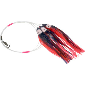 Daisy Chain Leader - Black & Orange with Copper Stripes