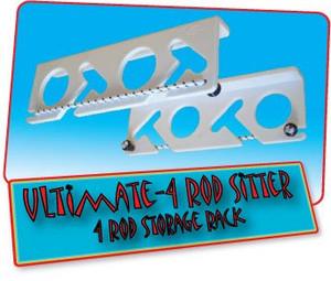 Ultimate 4 Rod Sitter - 4 Rod Fishing Rod Storage Rack