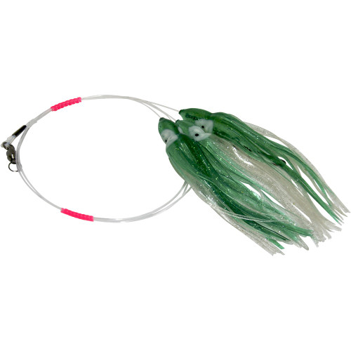 Daisy Chain Leader - Green & Silver Sparkle